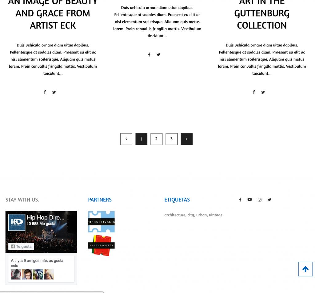 Ejemplo Web Revista - Blog 2