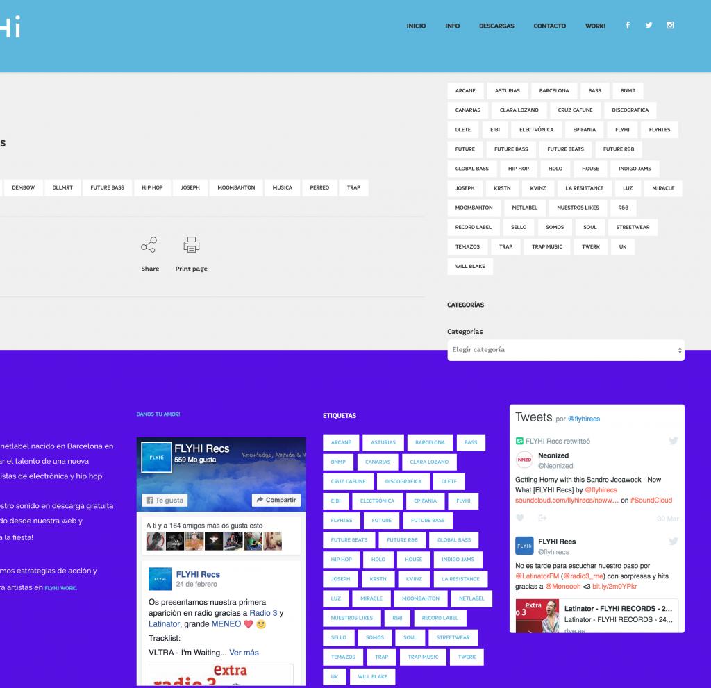 Ejemplo Web Revista - Blog - Corporativo