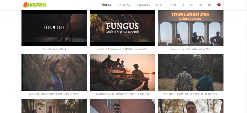 Ejemplo Diseño Web Artística